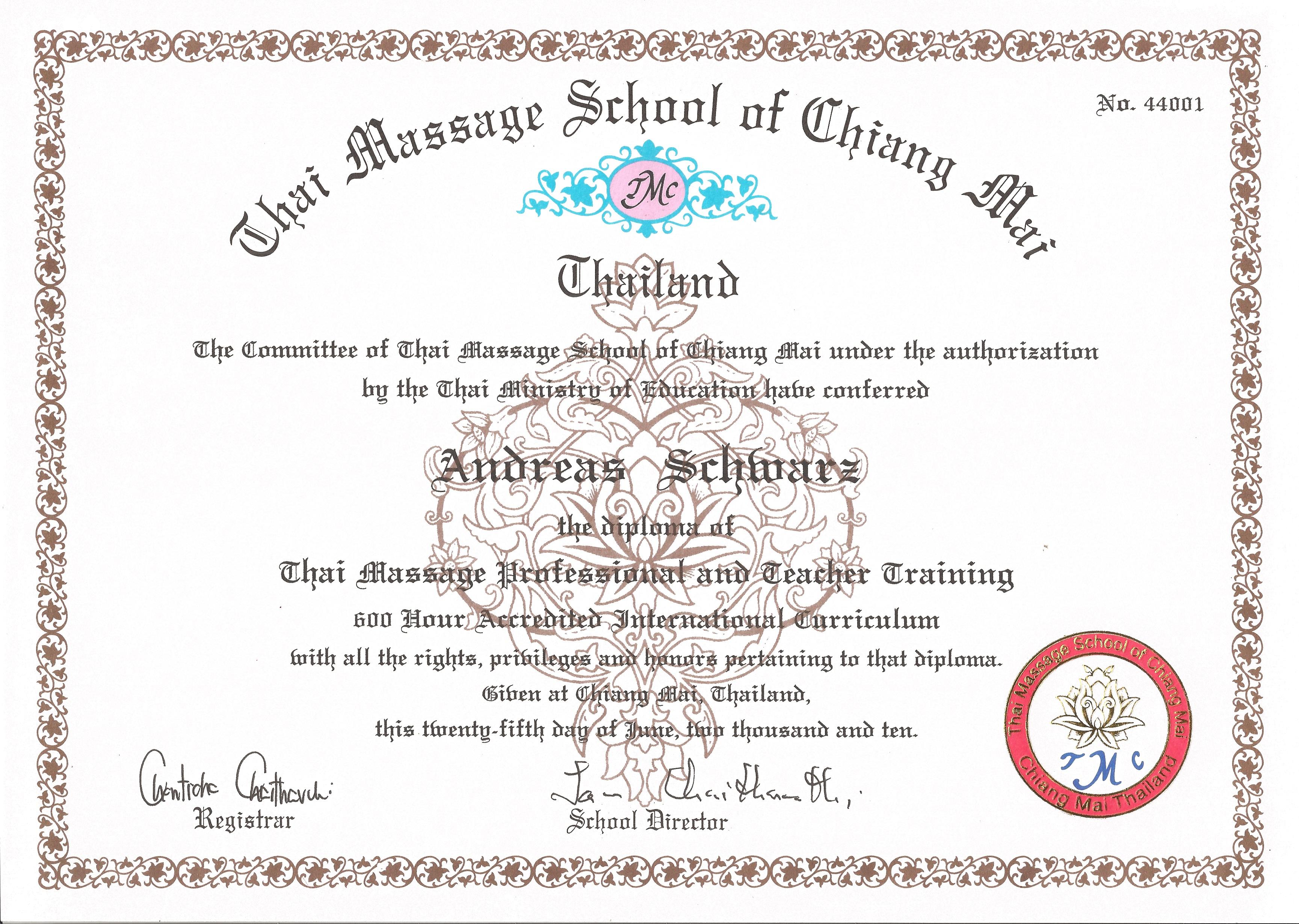 Diploma GCT 600 June 25, 2010